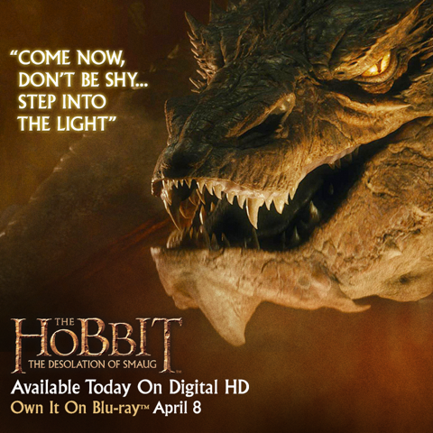 Quote of The Hobbit: The Desolation of Smaug QuoteSaga