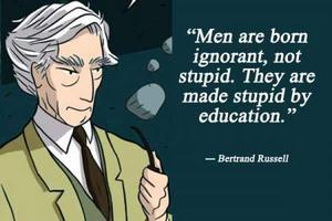 the happy man by bertrand russell Sourced quotations by the british philosopher bertrand russell (1872 — 1970) about man, life and people - page 2 enjoy the best bertrand russell quotes and picture quotes.