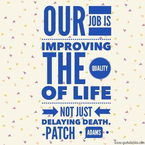 Robin Williams Patch Adams Quotes