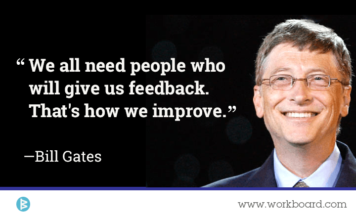 feedback in the workplace Giving positive feedback in the workplace january 27, 2015 by stephanie hammerwold 1 comment it seems that a lot of what we talk about in hr and management involves rules and policies.
