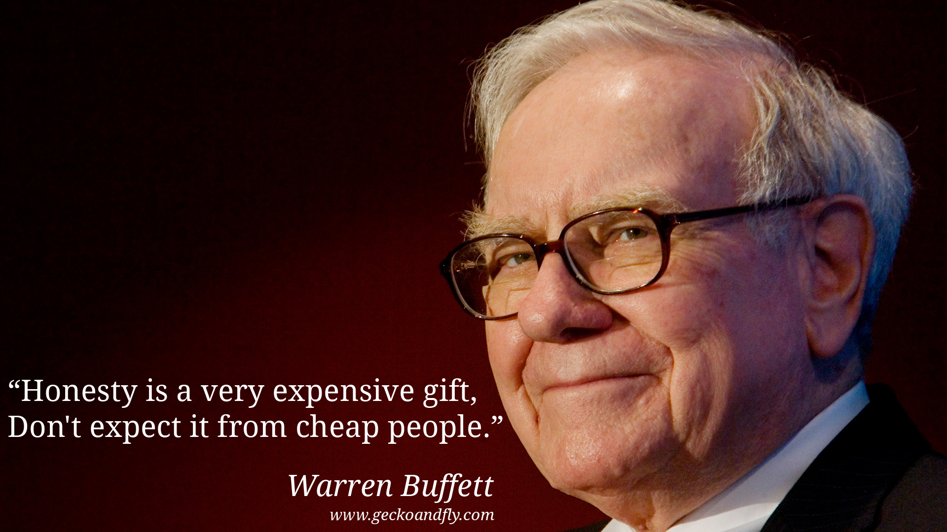 Image result for buffett don't expect truth from cheap people