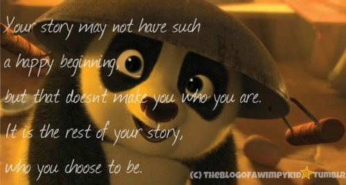 A Quote Of Kung Fu Panda 2