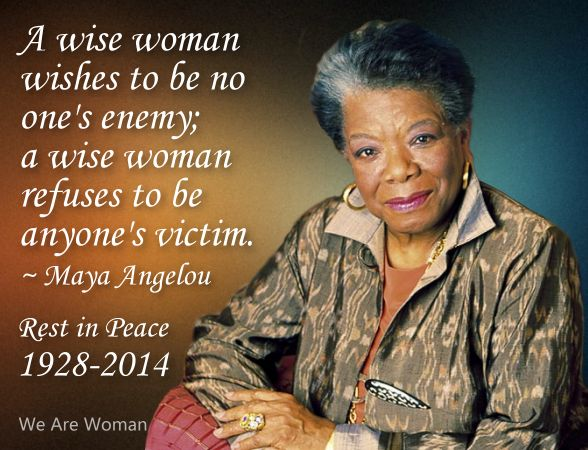 A Quote Of Maya Angelou