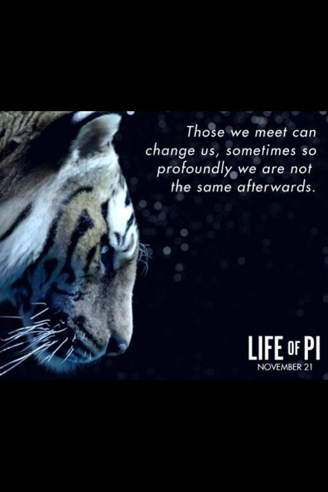 Life Of Pi Quotes I Love You Richard Parker : Quote of Life of Pi QuoteSaga